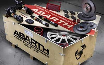 Abarth Tuning Kits und Merchandising